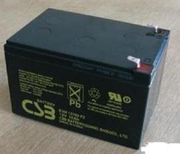CSB蓄电池GP12120 12V12AH技术参数