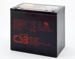 CSB蓄电池GP121770尺寸参数