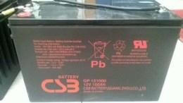 CSB蓄电池GP12400 12V40AH渠道报价