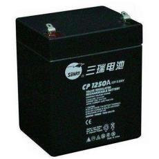 三瑞蓄电池CP1275阀控式铅酸12V7.5AH照明