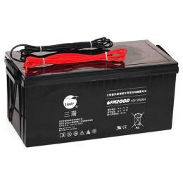 三瑞蓄电池CP1280阀控式铅酸12V8AH电器电源