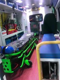 平顶山长途120救护车出租安全可靠