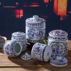 四川泡菜陶瓷包裝罐1斤廠家報價 陶瓷密封罐