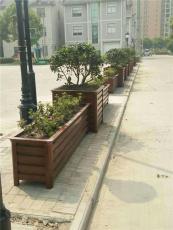 庆阳铝合金花箱 西峰pvc塑木花箱 防腐木