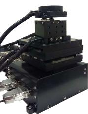 光纤精密组装对位设备专用UVW纳米对位平台