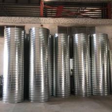 廣東鍍鋅螺旋風管排煙管道使用