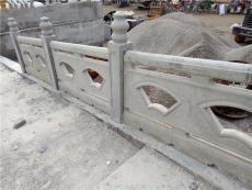 内江威远手工仿木栏杆 仿石铸造石栏杆