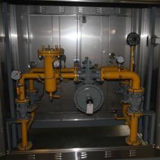 小區燃氣調壓箱中低調壓柜天燃氣調壓柜