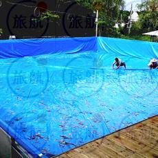 定做防水雨布 耐磨抗老化不滲水帆布魚水池