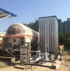 鍋爐汽化器LNG空溫式汽化器LNG氣化減壓撬