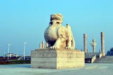 黑瞎子島東極寶塔浮雕摩崖石刻