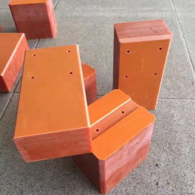 桔红色电木板 酚醛树脂板 3-100MM厚电木板