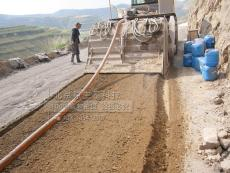 原生泰ST2土壤固化剂修筑路基硬化场地