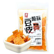 豆絲福州市麻辣豆卷辣條批發上海市辣條配送