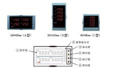 NHR-5740四回路數字顯示控制儀
