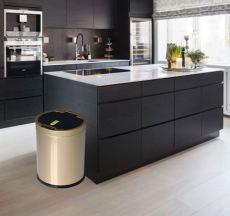 廠家直銷智能分類感應不銹鋼垃圾桶家用廚房