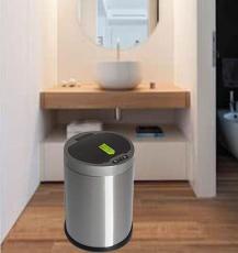 源頭廠家電子智能感應垃圾桶不銹鋼家用分類