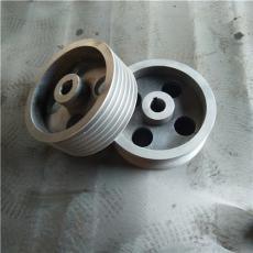 鑄鐵皮帶輪機床電機單槽多槽同步三角皮帶輪