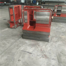 大型數控機床床身鑄件滑臺車鏜銑床工作臺