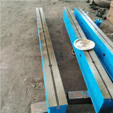 鑄鐵T型槽地軌 雙槽地軌 地槽鐵 基礎地梁
