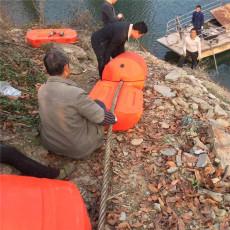 水面柱形拦污浮筒入水口拦漂设施型号