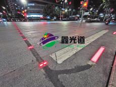 LED發光道釘智慧斑馬線方案 發光道釘地埋燈