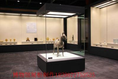 深圳博物館展柜定制 金屬展柜生產廠家