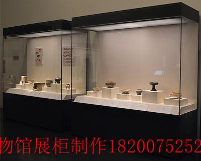 深圳精品展柜設計 博物館展柜定制制作廠家
