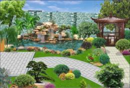 東莞塘廈清溪/別墅庭院/園林景觀設計施工
