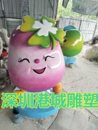 玻璃钢土豆马铃薯卡通公仔雕塑定制报价厂家