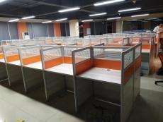合肥轉角隔斷桌屏風辦公桌職工卡座廠家定制