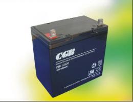 CGB蓄电池CBL12500 12V50AH联保三年