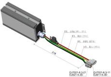 灯光变压器48V转24V30A DC/DC转换器 电动车