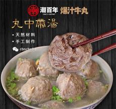 厂家供应正宗潮汕爆汁牛肉丸