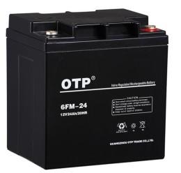 OTP阀控式铅酸蓄电池6FM-24 12V24AH/20HR