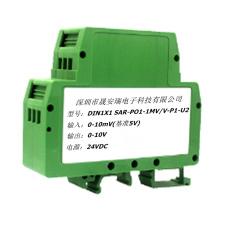 0-100mV/0-20mV转0-5V隔离放大器