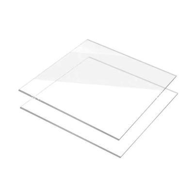 表面加硬耐花防雾透明PC板高清PET板防护目1