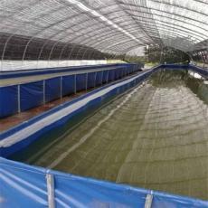 戶外高密度帆布魚池水產養殖定制各種尺寸保