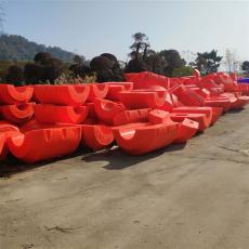 水面漂浮套管塑料浮體河道聚乙烯管浮體價格