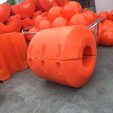 水上攔污管道浮筒水庫排泥管道浮筒圖片