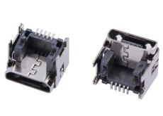 MICRO USB 5P垫高母座加高型 安卓接口插座