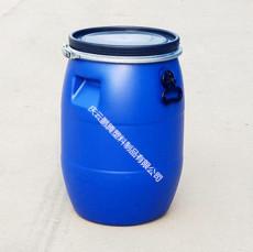 塑料桶廠家50L塑料桶50L鐵箍法蘭塑料桶