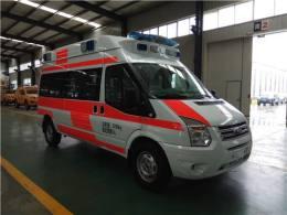 長泰縣長途救護車出租費用低-