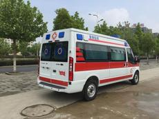 政和縣長途120救護車出租多少票票-