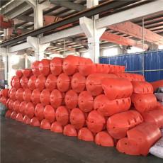圆形塑料浮筒水库拦污浮筒设计生产一体化