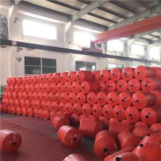 无动力自浮式拦污排水电站拦垃圾浮筒案例