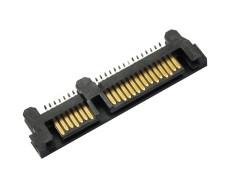 供应sata7加15PIN夹板SMT公头22PIN移动硬盘