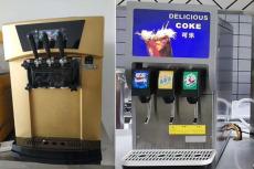 三头饮料机安装可乐糖浆包代理