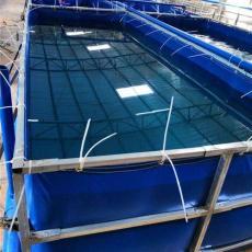 山東省戶外大型帆布魚池養魚池廠家直銷定制