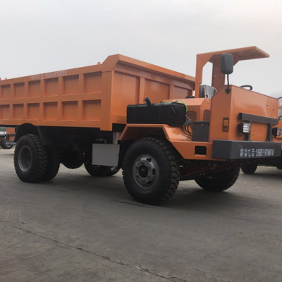 锦州井下矿用四驱车采用气刹装置